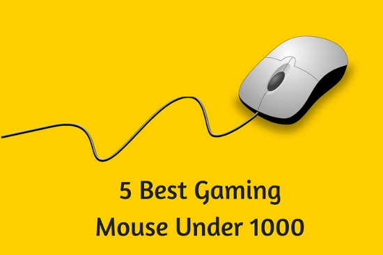 5 best gaming mouse under 1000