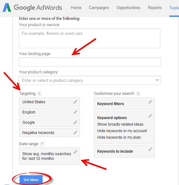 Google-Keyword-Planner-Keyword-Search