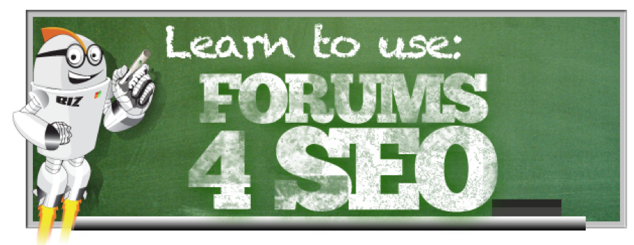Learn to use forum for seo