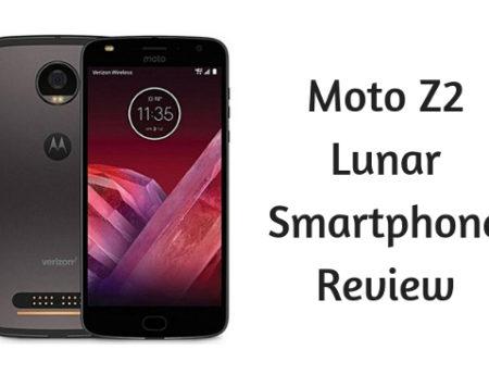Moto Z2 Lunar Smartphone Review
