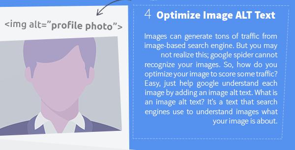 Optimize image Alt Text