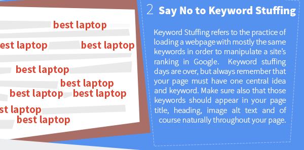 Overstuffing of Keywords