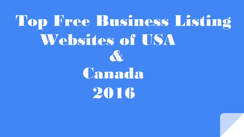 Top Free Do-follow Business Listing Sites 2018 -