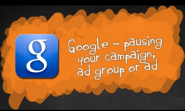 pause and resume google adwords ads
