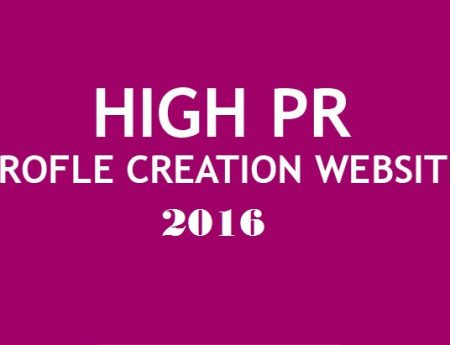 List of Do-follow High PR Profile Creation Websites 2017